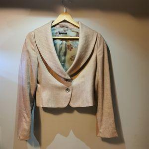 🌻5/$30🌻Sisley Dusty Pink Crop Blazer/Jacket